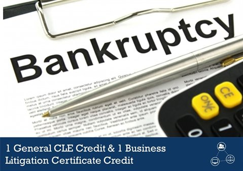 Bankruptcy CLE: Avoidable Preferences and Defenses
