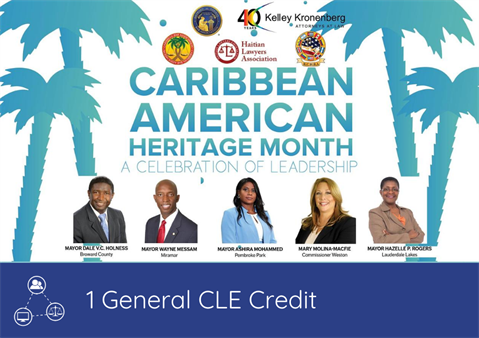 Caribbean American Heritage Month: A Celebration of Leadership