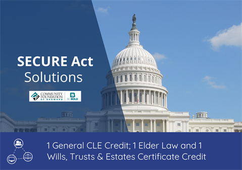 Webinar: SECURE Act Solutions